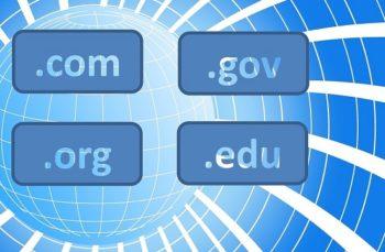 Domain registration process