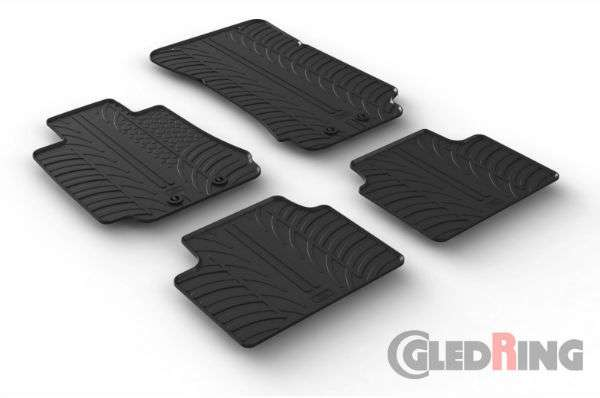 Protect your car's carpet with a floor mat