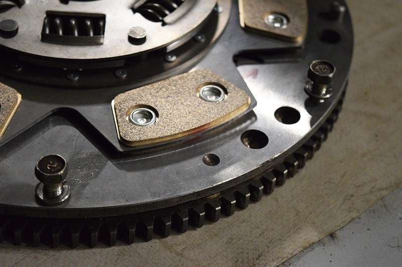 The dual mass flywheel