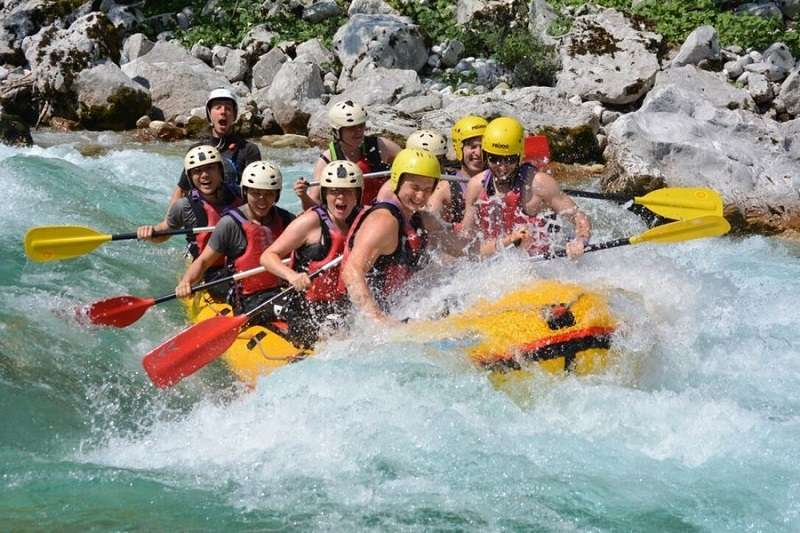 Bovec rafting, the ultimate white water rafting experience
