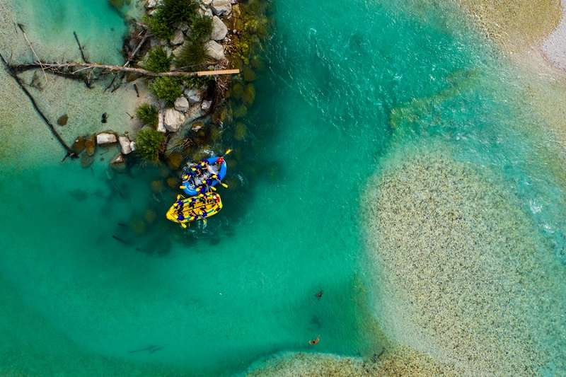 Bovec rafting is suitable for beginners