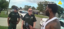 A Florida jogger kept his cool while cops detained him. Then, they offered him a job