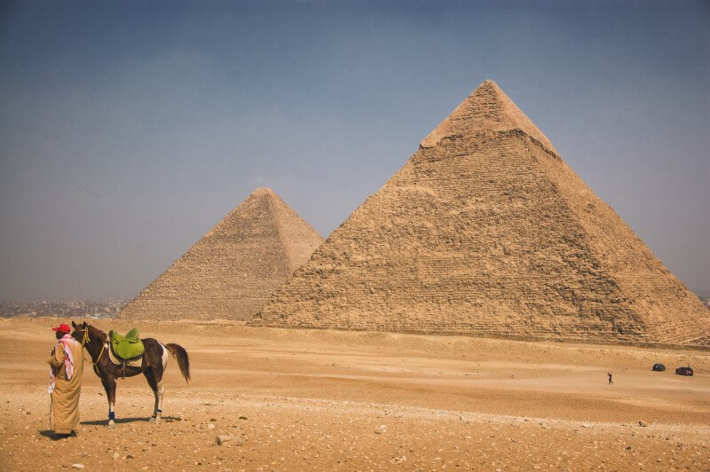 Pyramids of Giza - Quick Facts