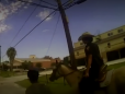 Black man bound by rope and led by police on horses sues Texas city for $1m