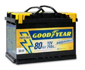 Car battery Goodyear