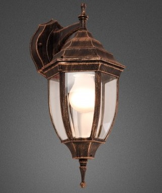 Outdoor lighting helps you achieve a more unified look